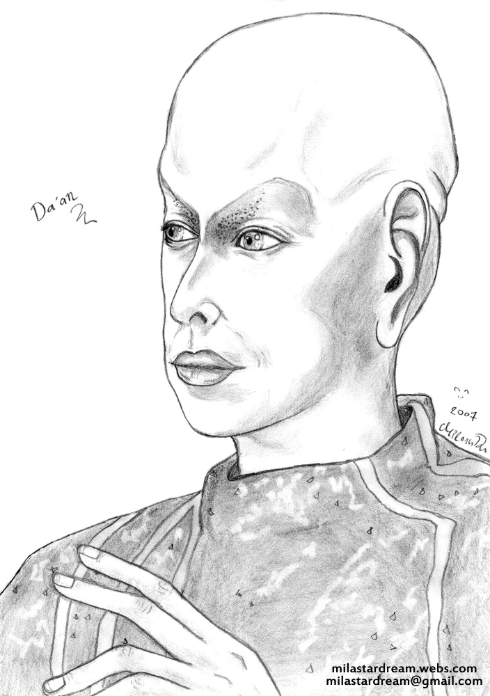 Da'an portrait (Earth: Final Conflict)