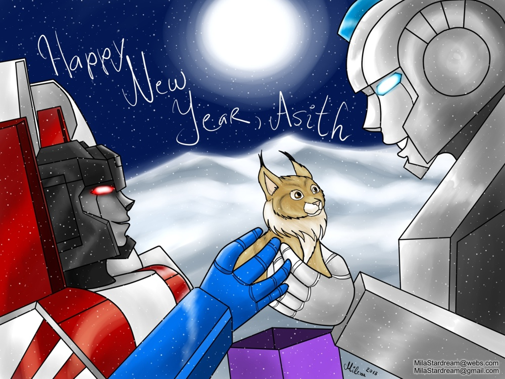 New Year Lynx (The Transformers)